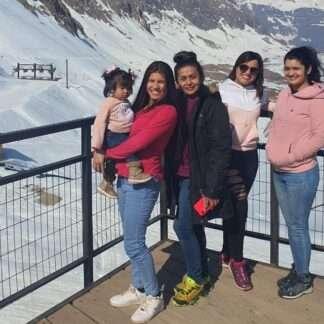 Tour privado un día entero en la nieve en la cordillera de los Andes
